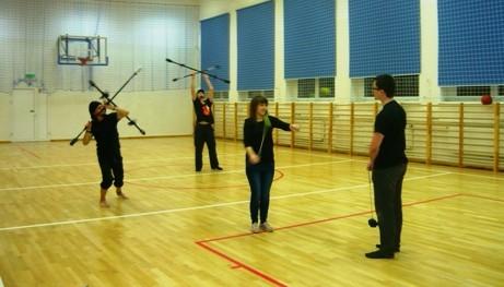 5. żonglowanie