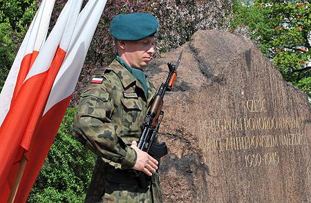 Toruń uczcił poległych podczas II wojny światowej