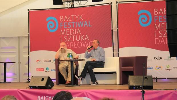 Media i Sztuka | Baltyk Media i Sztuka | Prof. Bralczyk na festiwalu Media i Sztuka