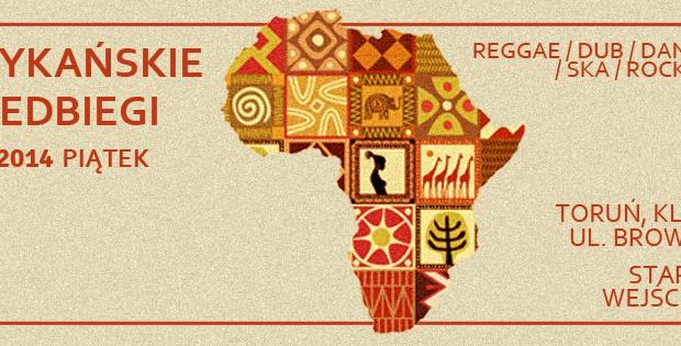 2014.01.24 Afrykańskie Przedbiegi Toruń NRD baner