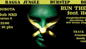 2014.03.01 Run The Track feat. HoT (Rosja) Toruń NRD baner