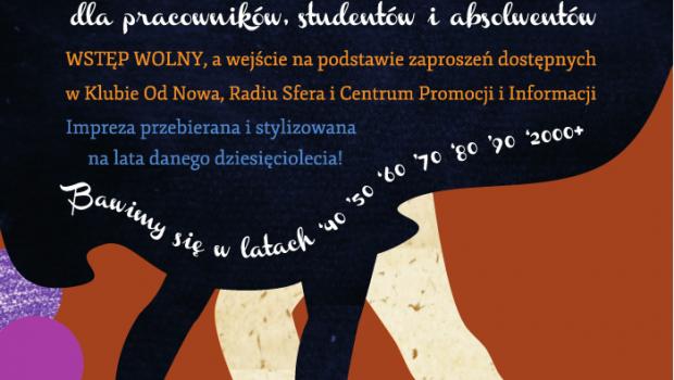 7 Dancingów na 70 lecie UMK. Tańce w Od Nowie.