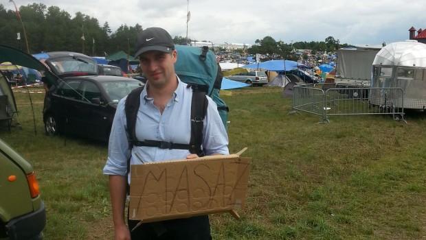 Janek Woodstockowy Masażysta, fot Facebook