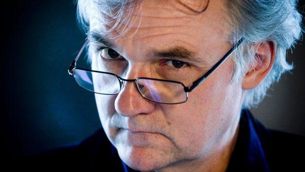 12.2005 Warszawa - Jerzy Pilch - pisarz , scenarzysta , felietonista  fot. Wojciech Druszcz/Reporter