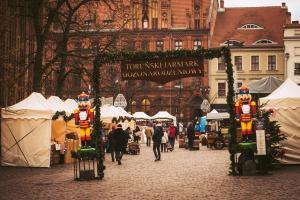 Toruński Jarmark Bożonarodzeniowy – wejście