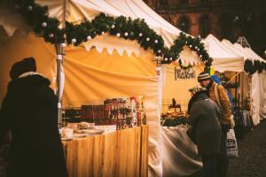 Toruński Jarmark Bożonarodzeniowy – stoiska z jedzeniem