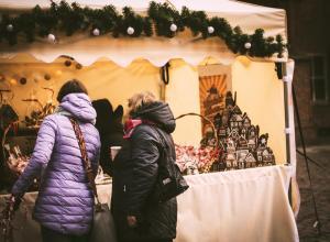 Toruński Jarmark Bożonarodzeniowy – stoisko z piernikami