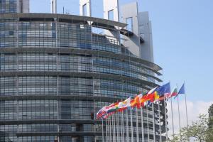 Siedziba Parlamentu Europejskiego w Strasburgu.fot. Julia Wityńska